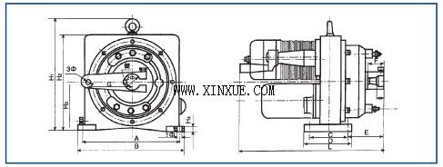 dkj-□20型角行程电限位电动执行器